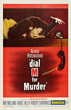 """""""dial M For Murder"""".alfredhitchcocks.classic Movie Poster A1a2a3a4sizes"""
