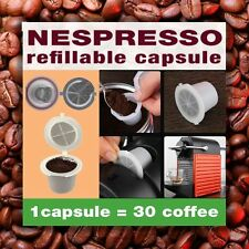 1/5/10/20 4th Generation Nespresso Refillable Capsule REUSABLE BFA free EMOHOME