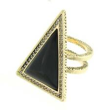 House of Harlow 1960 By Nicole Richie Triangle Theorem Ring  BNWT RRP $64