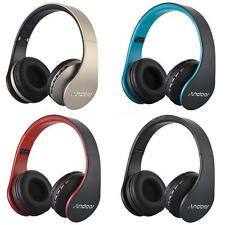 Foldable Wireless Bluetooth Headphone Headset FM MP3 TF SD for iPhone Samsung PC