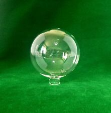 Clear Glass Globe Lampshade for B&Q 'Frater' & 'Cluster' lighting (ball sphere)