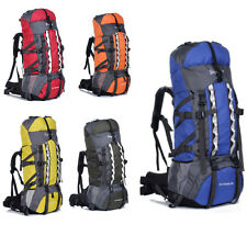 Outdoor mountaineering bag factory wholesale 80L big capacity travel backpack