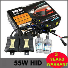 55W HID XENON KIT Headlight Conversion Slim Ballast H1 H11 H4 H7 9006 9007 6000K