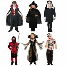 BOYS GIRLS CHILDRENS KIDS HORROR HALLOWEEN PARTY FANCY DRESS COSTUME OUTFIT 2015