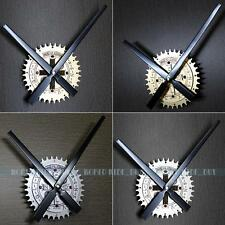 Vintage Gear Exorcism Cross Quartz DIY Wall Clock Movement Hands Mechanism Part