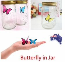Butterfly in Jar Sound Activated Animated Electronic Senor Monarch Swallowtail