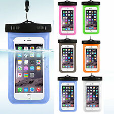 Dry Bag Pack Case Covers Waterproof Pouch Lanyard Snap For Cell/ Mobile Phone