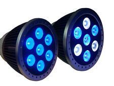 7x3W LED CORAL REEF GROW LAMP (BLUE OR BLUE/WHITE LEDS)