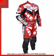 Yamaha R1-R6 Red Racing Leather Motorcycle full suit Jacket trouser- All Sizes