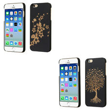 Cool Slim Wooden Maple Back Snap On Protector Cover Phone Case Apple iPhone 6 6S