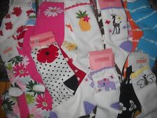 NWT Gymboree Girl 4 5 6 7 8 9 10 & Up 2 pairs of Socks Set Spring Summer All NEW