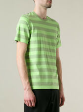 Striped Y-3 tee t-shirt from Yohji Yamamoto Lime Green Black or Pink - Any Size