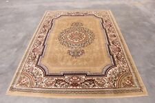 RUGS AREA RUGS CARPET 8X10 AREA RUG LARGE RUGS PERSIAN ORIENTAL BEIGE RUGS ~ NEW