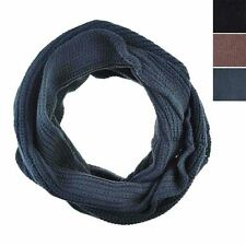 Ladies Infinity Neck Knitted Warm Loop Winter Snood Scarf Circle