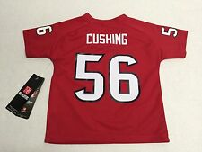 Houston Texans football Brian Cushing #56 Official NFL infant Toddler Jersey New