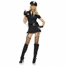 LEG AVENUE DIRTY COP SEXY WOMENS LINGERIE HALLOWEEN POLICE COSPLAY COSTUME