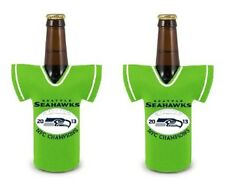 Seattle Seahawks NFL Coozie Bottle Cup Beverage Koozie  NFC Champions