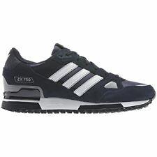 ADIDAS ORIGINALS ZX 750 MENS TRAINERS RUNNING SHOES NAVY