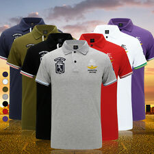 Men's Short Sleeve Polo T-Shirt  Air Force Casual Shirts Large Size