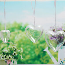 5pcs Christmas Hearts Hanging Ball Baubles Candy Ornament Xmas Tree Decoration