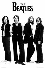 New The Fab Four in Black and White The Beatles Poster
