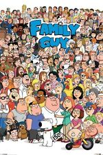 New Family Guy Character Compilation Poster