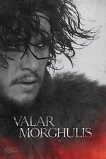 New Game Of Thrones Jon Snow Valar Morghulis Poster
