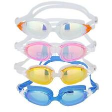 Adult Adjustable UV ANTI-FOG Swimming Goggles Eye Protect Swim Glasses with Case