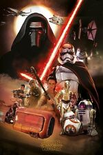 Star Wars Episode VII The Force Awakens Montage Poster 61x91.5cm