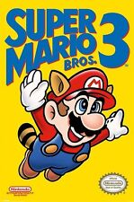 New Nintendo Super Mario Bros 3 Retro Gaming Poster