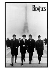 The Beatles Gloss Black Framed Liverpool Lads in Paris Maxi Poster 61x91.5cm