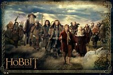 New The Hobbit An Unexpected Journey The Cast Poster