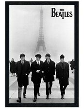 The Beatles Black Wooden Framed Liverpool Lads in Paris Maxi Poster 61x91.5cm