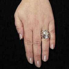 STERLING SILVER RING SOLID .925 /NEW SIZE J-Y JEWELLERY