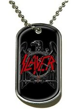 Slayer Dog Tags - Black Eagle - NEW & OFFICIAL