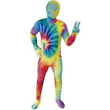 MORPHSUITS TIE DYE KIDS CHILDRENS COSPLAY BODY SUITS HALLOWEEN COSTUMES