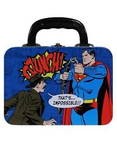 Dc Comics Superman Tin Lunch Box - NEW & OFFICIAL