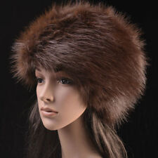 Posh Hight Quality Faux  Fox  Fur Warm Glamour Ski Hat for Winter.