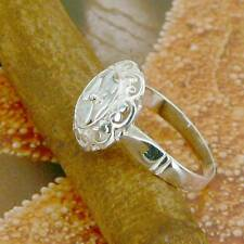 STERLING SILVER CLOVER RING SOLID.925 /NEW JEWELERY  SIZE J - U