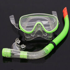 Scuba Diving Equipment Dive Mask Dry Snorkel Set Scuba Snorkeling Gear Kit