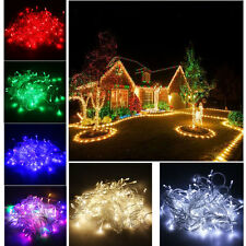 Outdoor Waterproof 20M 200 LED Xmas Christmas String Fairy Lights Wedding Party
