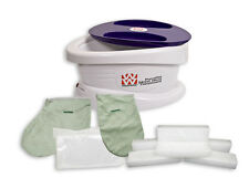 Waxwel Paraffin Heat Therapy Bath - 6 lb wax,mitt,bootie,100 liners New included