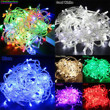 9 Color 10M/20M 100/ 200LED Bulbs Christmas Fairy Party String Lights Waterproof