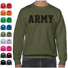 US ARMY Military Physical Training PT Crewneck Sweatshirt