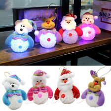 New Christmas Snowman Cute Ornaments Festival Party Xmas Tree Hanging Decoration