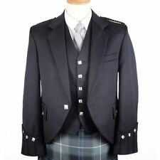 uk Stock Argyle Kilt Jacket With Free Waistcoat Party Dress Weding Dress