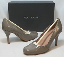 TAHARI Women's James Pump - Autumn Taupe Patent - Sz 6 Only - NIB - MSRP $98