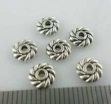 30/120/1000pcs Tibetan Silver Daisy Flower Crafts Spacer Beads Jewelry 6mm