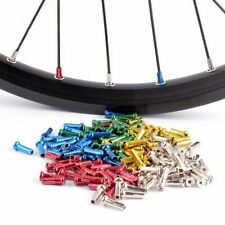 72X MTB BMX Road Mountain Cycling Bike Bicycle Wheel Spoke Nipples End Caps 14MM