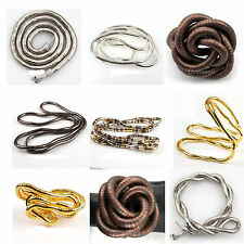 1pcs 90cm Bendy Flexible Snake Chains Necklace/Bracelet